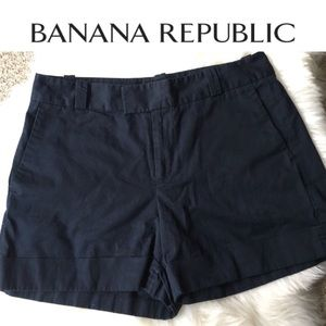 Cute Navy Blue Banana Republic Shorts - SZ: 12